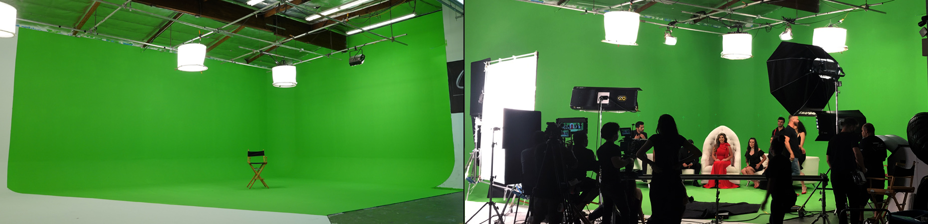 Large 55' Green Screen